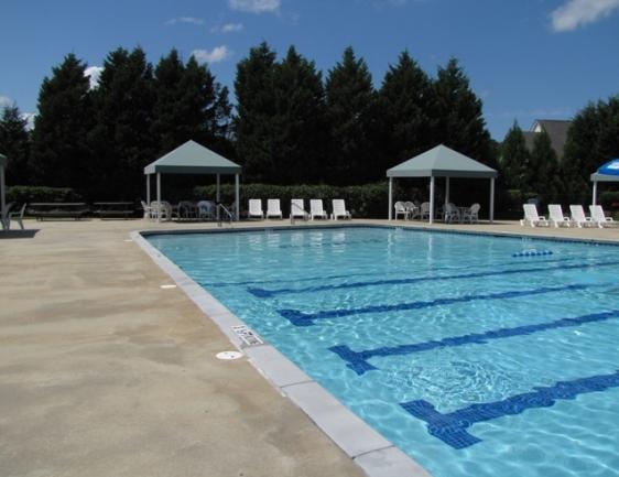 Swim laps or float around on warm summer days.