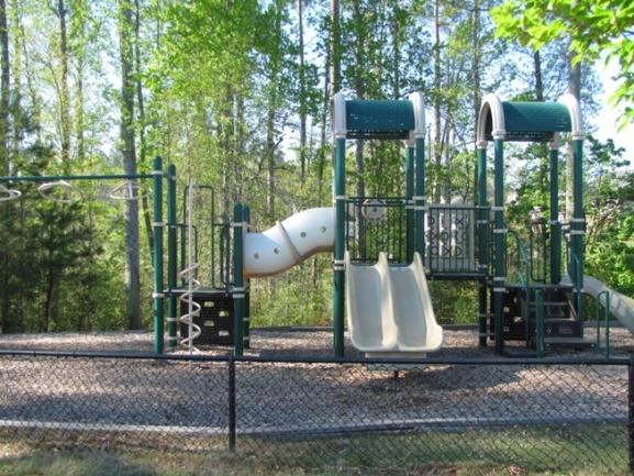 Children love having fun on the Cary Park community playground!