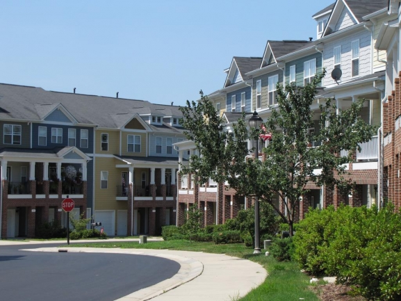 Condominiums are just one home option in Cary Park.