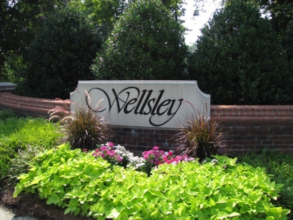 Wellsley Neighborhood Sign