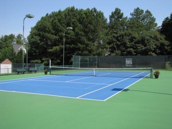 Sunset Ridge Neighborhood Tennis Court
