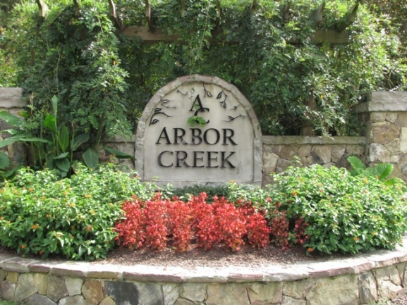 Arbor Creek Neighborhood Sign